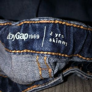 Babygap stretch jeans size 2 years dark color